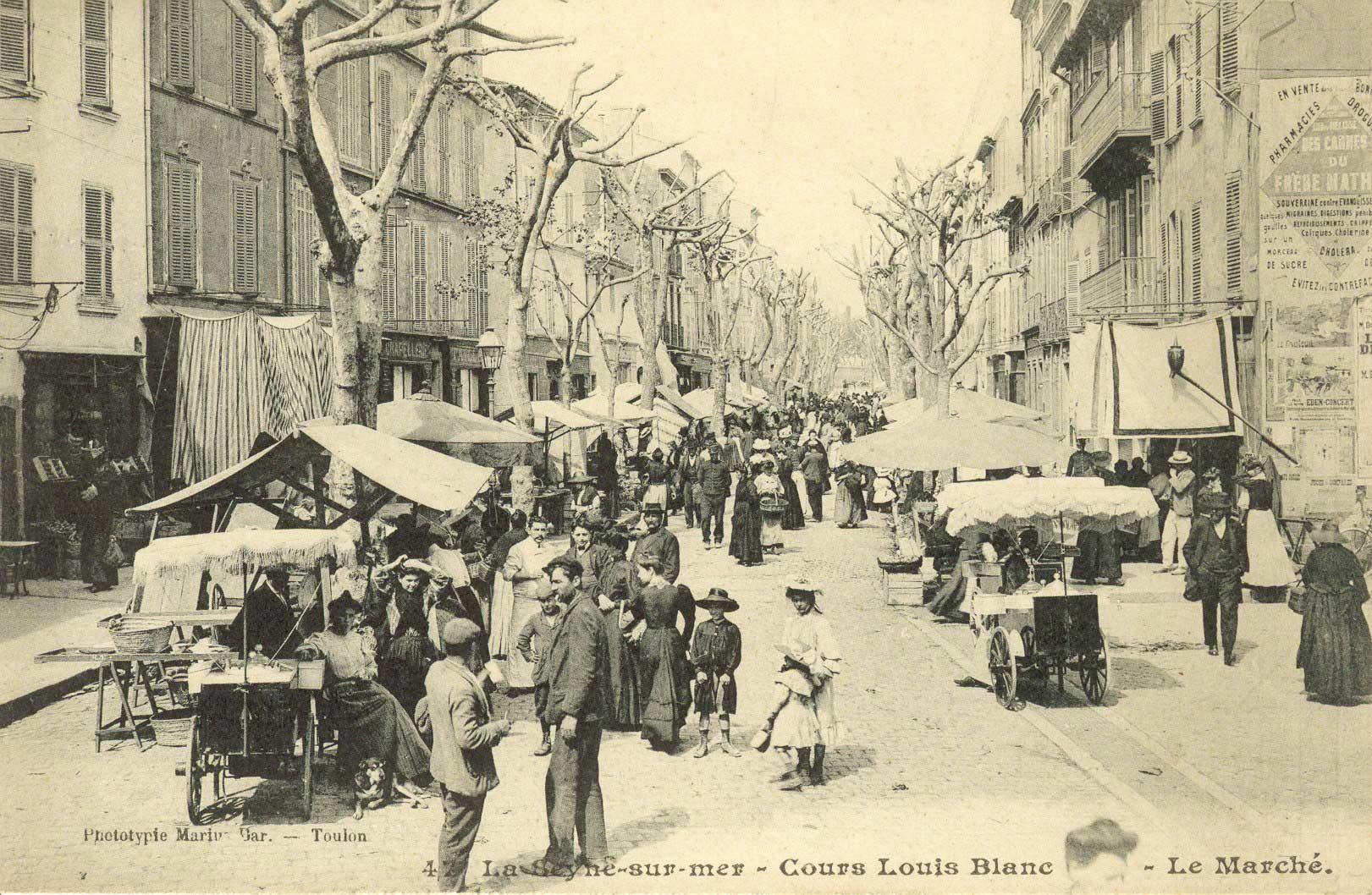 Le Marché provençal 1900 et quelques à La Seyne