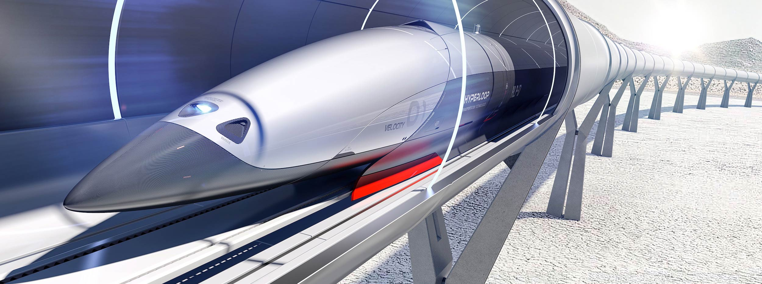 Hyperloop: Un Train à 1 000 km/h va être testé dans un Village du Limousin -