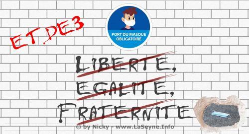 #Covid19: Obligation du Port du Masque à La Seyne,.. 3ème sur ..? -