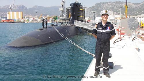 Arrivée du Sous-Marin nucléaire d'Attaque (SNA) Suffren à Toulon, le 28/07/2020 -
