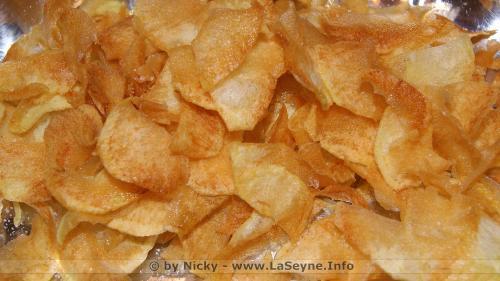 Des Chips fait Maison -