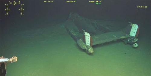 Découverte de l'Épave d'un Avion de l'aéronautique navale en Mer Méditerranée au Sud de Porquerolles -
