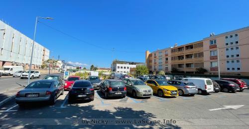 Travaux: Poursuite de l'Agrandissement du Parking des Esplageolles -
