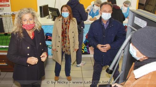 #Covid19: Ouverture d'un Centre de Dépistage de Tests antigéniques Express aux Sablettes -