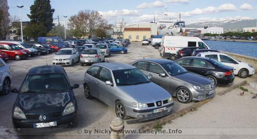 Travaux: Fermeture provisoire du Parking Aristide-Briand, du 06 au 09/04/2021 -