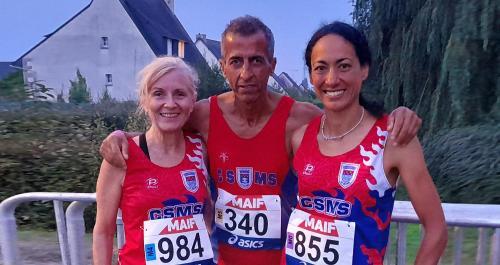 CSMS Athlétisme: Trois Seynois à Langueux pour les Championnats de France de 10km -