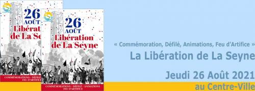 Vidéo: Le 77ème Anniversaire de la Libération de La Seyne sur Mer, le Jeudi 26 Août 2021 -