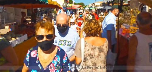 #COVID19: Le Port du Masque obligatoire sur tous les Marchés de plein Air du Département du Var -